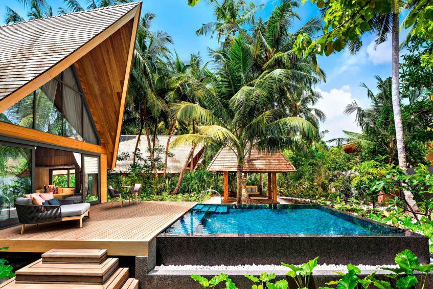 The St. Regis Maldives Vommuli Luxury Resort - Dhaalu Atoll, Maldives - Garden Villa with Pool