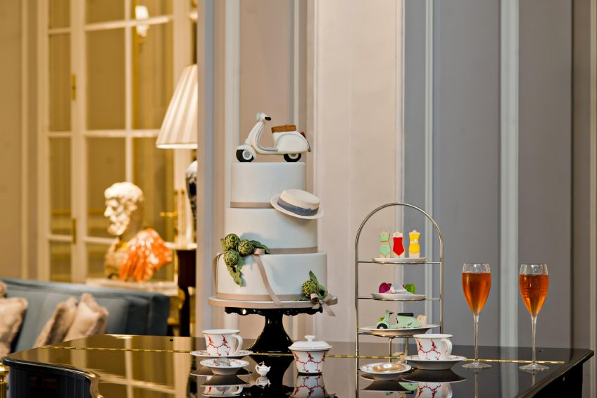 The St. Regis Rome Luxury Hotel - Rome, Italy - Afternoon Tea Ritual