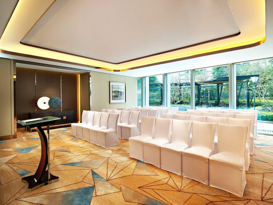 The St. Regis Shenzhen Luxury Hotel - Shenzhen, China - Meeting Room