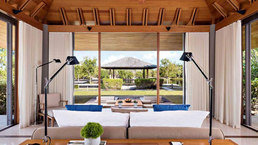 Amanyara Luxury Resort - Providenciales, Turks and Caicos Islands - 4 Bedroom Tranquility Villa Bedroom View