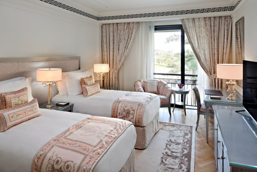 Palazzo Versace Dubai Hotel - Jaddaf Waterfront, Dubai, UAE - 3 Bedroom Residence Twin Bedroom
