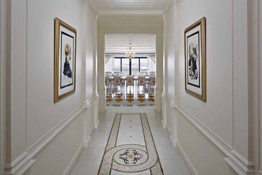 Palazzo Versace Dubai Hotel - Jaddaf Waterfront, Dubai, UAE - 4 Bedroom Residence Hallway