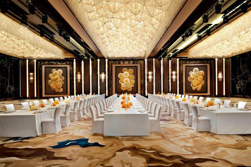 The St. Regis Shenzhen Luxury Hotel - Shenzhen, China - Western Banquet