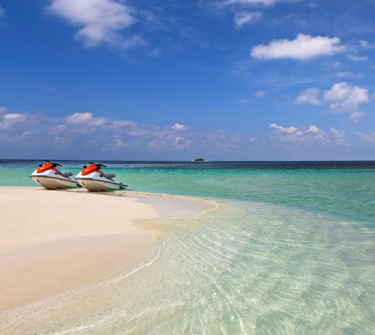 W Maldives Luxury Resort - Fesdu Island, Maldives - Beach Jet Ski