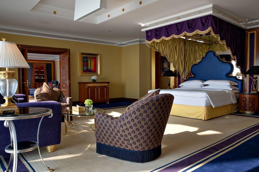 Burj Al Arab Luxury Hotel - Jumeirah St, Dubai, UAE - Presidential Suite Bedroom