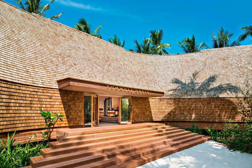 The St. Regis Maldives Vommuli Luxury Resort - Dhaalu Atoll, Maldives - Vommuli House Entrance