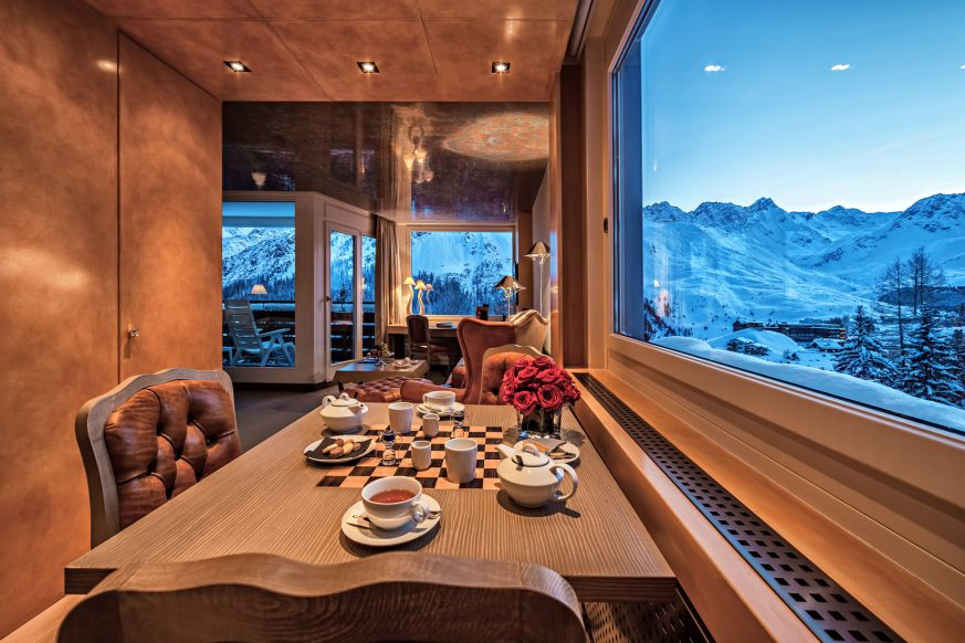 Tschuggen Grand Luxury Hotel - Arosa, Switzerland - Junior Suite