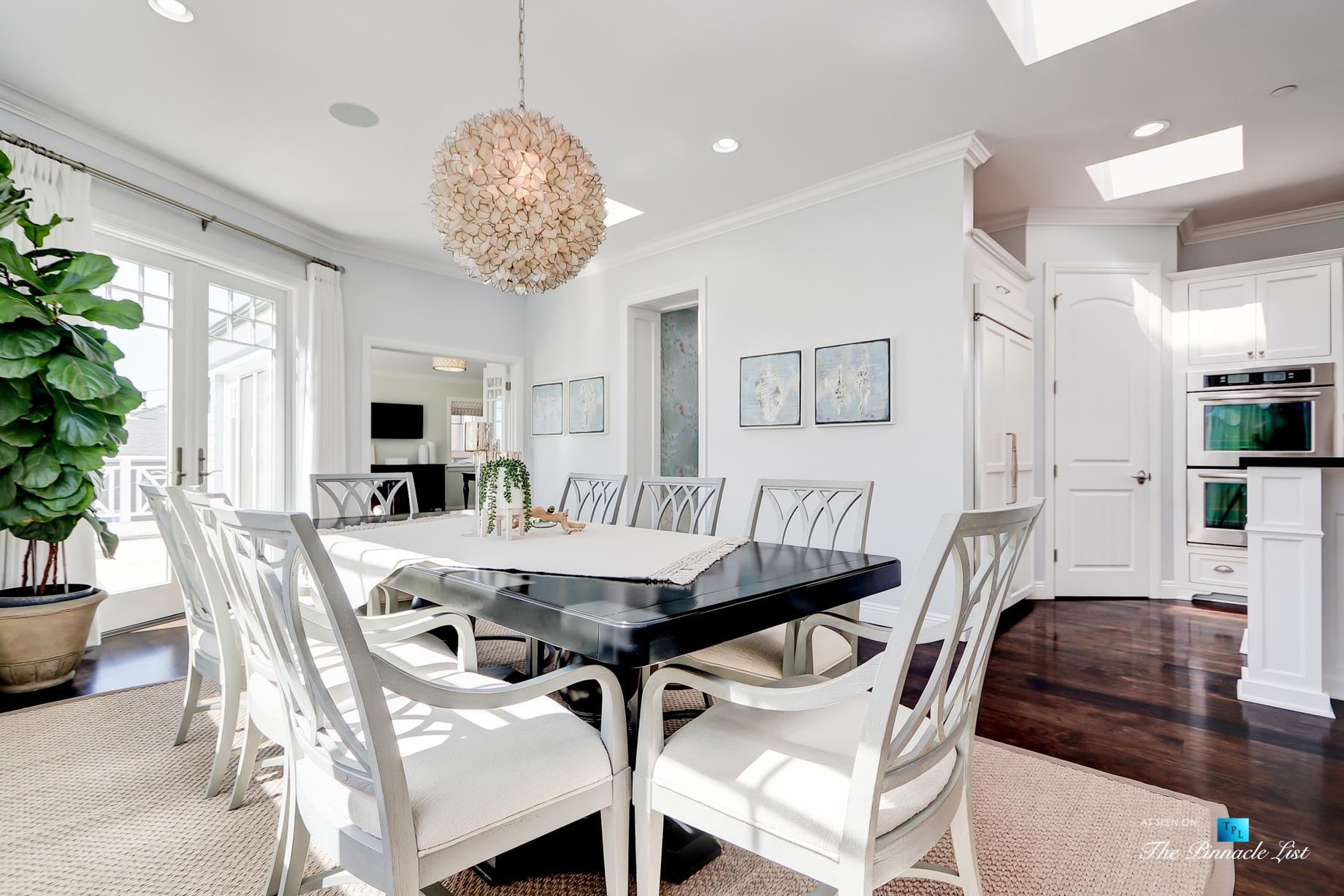 Coastal Oceanview Luxury Retreat – 125 8th St, Manhattan Beach, CA, USA – Dining Room