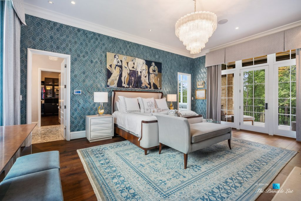 North Buckhead Luxury Estate - 1150 W Garmon Rd, Atlanta, GA, USA - Master Bedroom