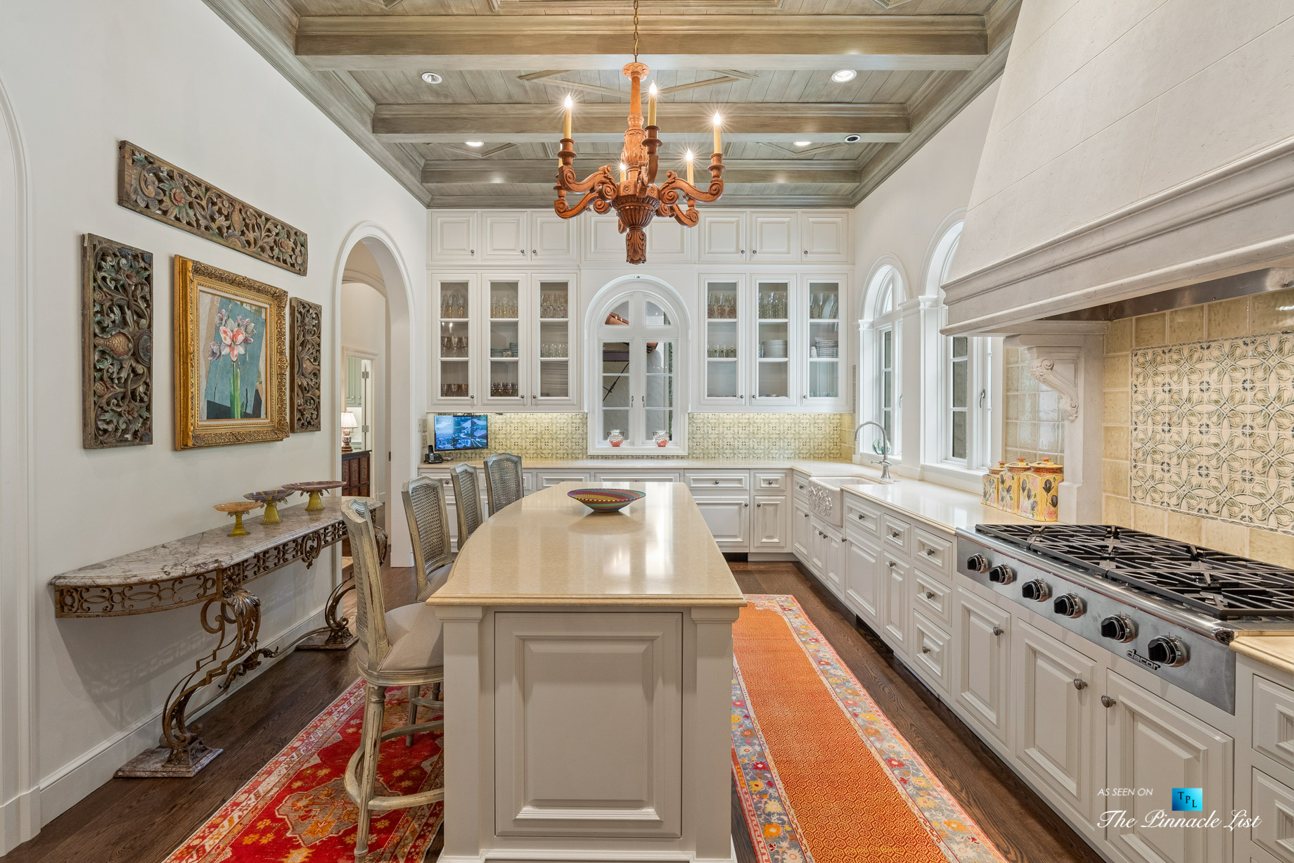Tuxedo Park Mediterranean Estate - 439 Blackland Rd NW, Atlanta, GA, USA - Kitchen
