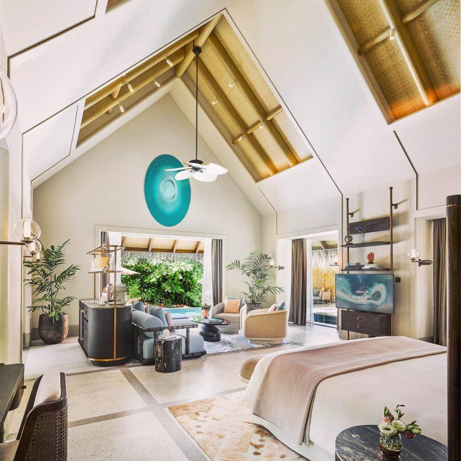 Joali Maldives Luxury Resort - Muravandhoo Island, Maldives - Beachfront Villa Master Bedroom