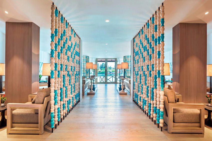 The St. Regis Maldives Vommuli Luxury Resort - Dhaalu Atoll, Maldives - St. Regis Airport Lounge