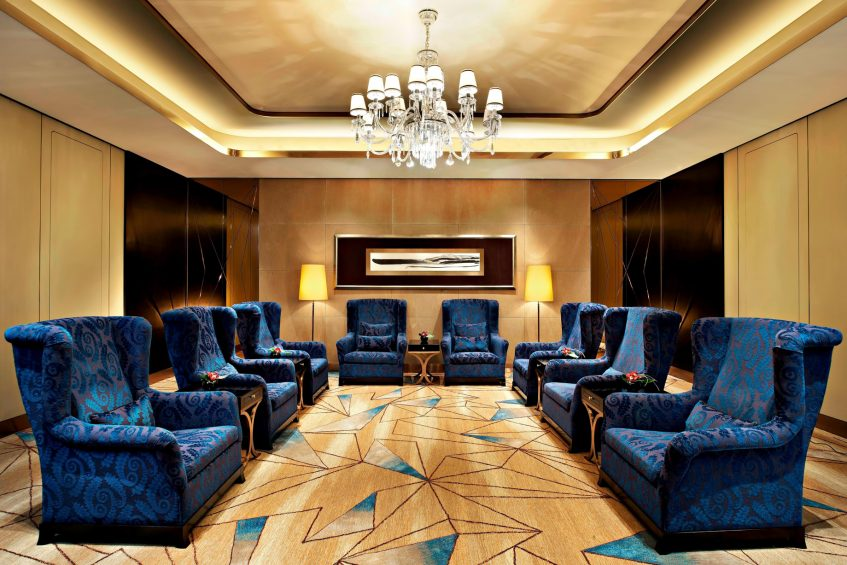 The St. Regis Shenzhen Luxury Hotel - Shenzhen, China - Meeting VIP Room