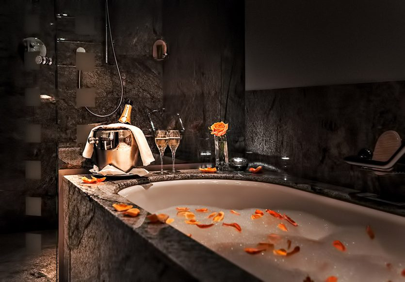 Tschuggen Grand Luxury Hotel - Arosa, Switzerland - Private Bath