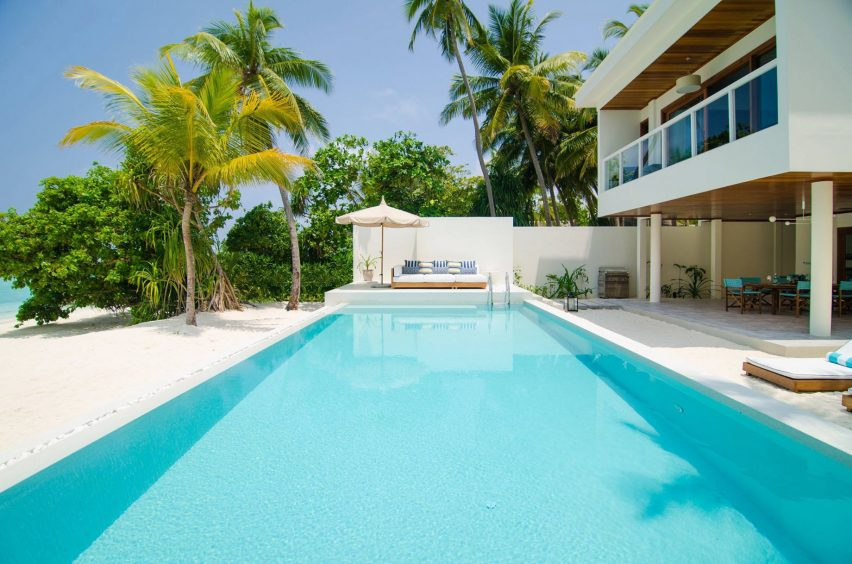 Amilla Fushi Luxury Resort and Residences - Baa Atoll, Maldives - Oceanfront Villa Beachfront Pool