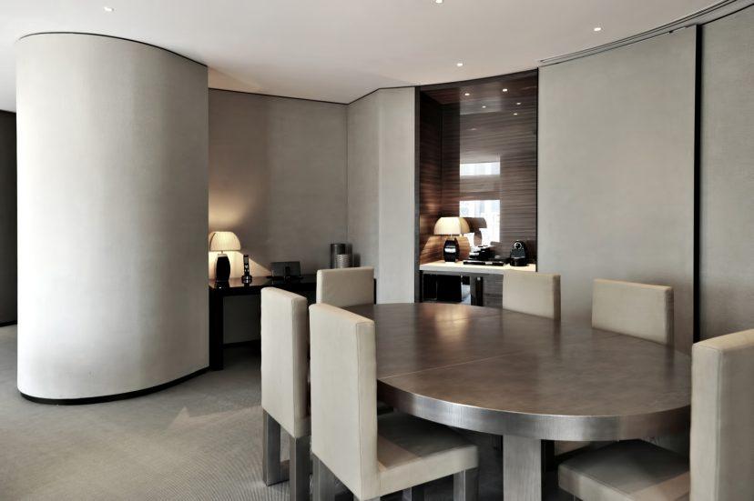 Armani Hotel Dubai - Burj Khalifa, Dubai, UAE - Armani Suite Dining Area