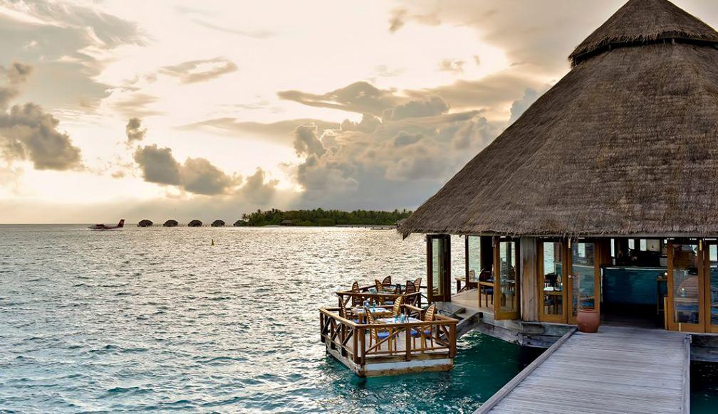 Waldorf Astoria Maldives Ithaafushi Luxury Resort - Ithaafushi Island, Maldives - Overwater Sunset Grill