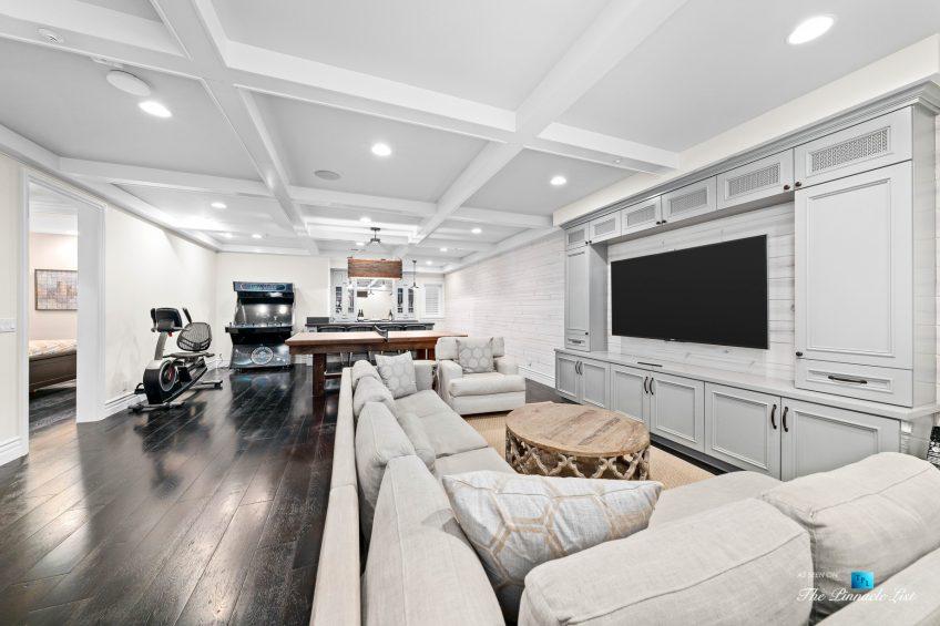 1412 Laurel Ave, Manhattan Beach, CA, USA - Basement Entertainment Room
