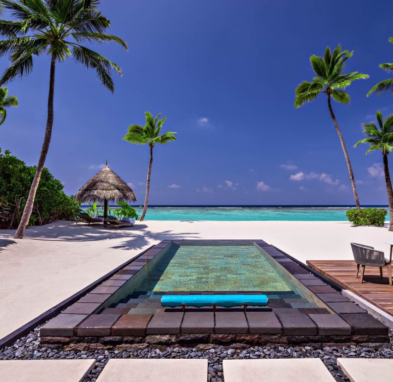 One&Only Reethi Rah Luxury Resort - North Male Atoll, Maldives - Grand Beach Villa Oceanview Pool