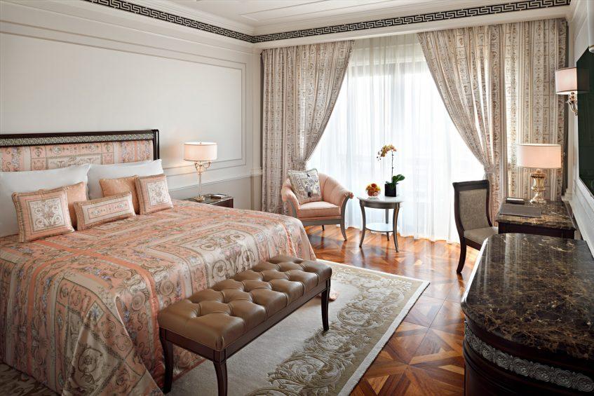 Palazzo Versace Dubai Hotel - Jaddaf Waterfront, Dubai, UAE - Deluxe Versace Bedroom