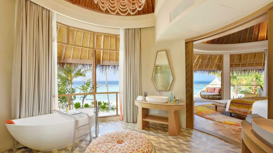 The Nautilus Maldives Luxury Resort - Thiladhoo Island, Maldives - Beach Residence Master Bathroom