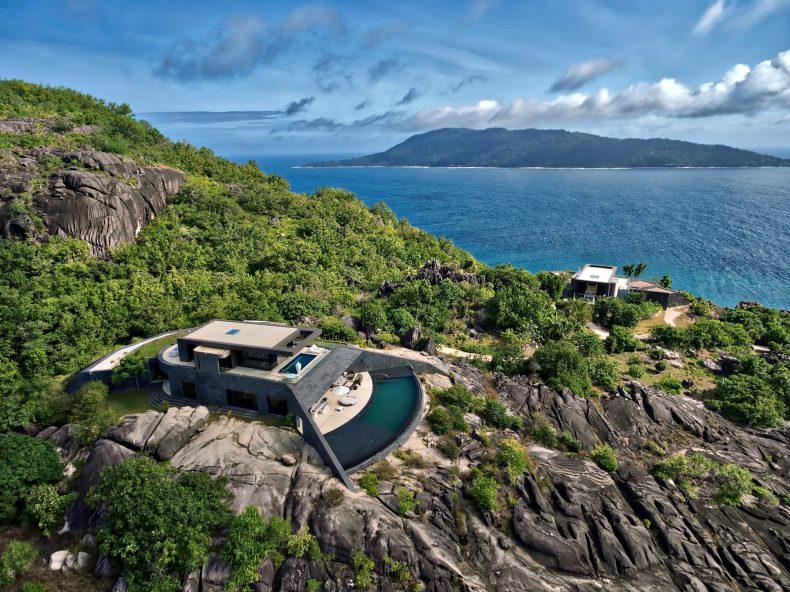 Six Senses Zil Pasyon Luxury Resort - Felicite Island, Seychelles - Private Residence Exterior Ocean View