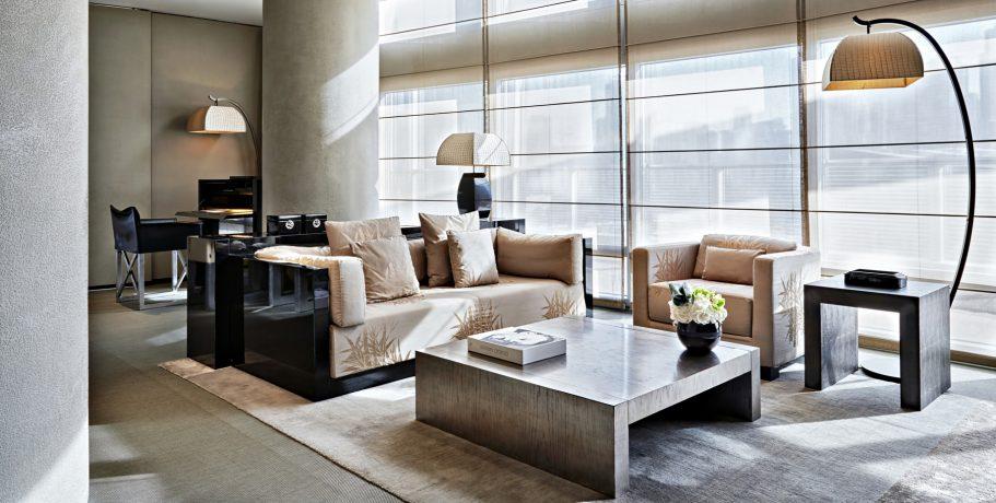 Armani Hotel Dubai - Burj Khalifa, Dubai, UAE - Armani Suite Living Area