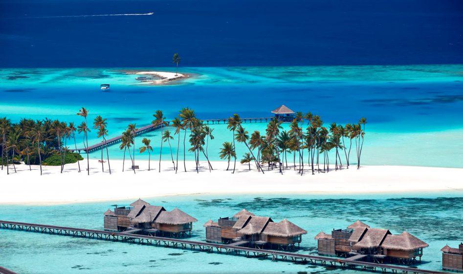 Gili Lankanfushi Luxury Resort - North Male Atoll, Maldives - White Sand Beach Villas Aerial