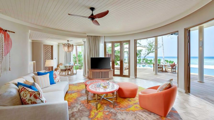 aThe Nautilus Maldives Luxury Resort - Thiladhoo Island, Maldives - Beach Residence Living Room