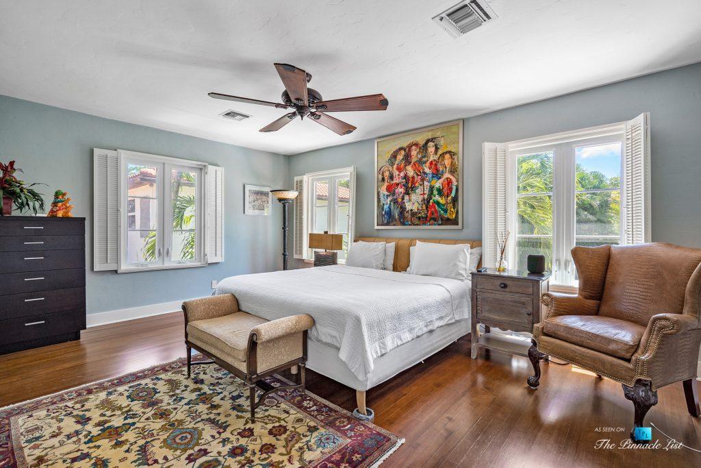 Addison Mizner Old Floresta Home – 888 Oleander St, Boca Raton, FL, USA - Bedroom