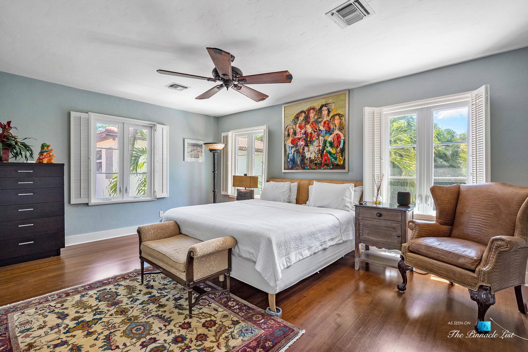 Addison Mizner Old Floresta Home – 888 Oleander St, Boca Raton, FL, USA – Bedroom