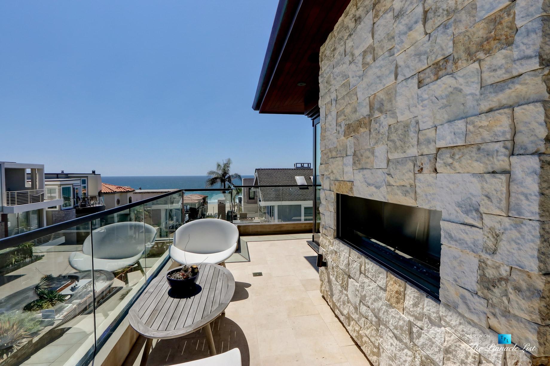 Bespoke Luxury Oceanview Residence - 205 20th St, Manhattan Beach, CA, USA - Deck Ocean View