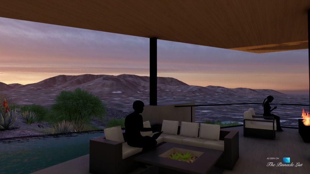 Mummy Mountain Luxury Residence - 5221 E Cheney Dr, Paradise Valley, AZ, USA - Infinity Pool Deck
