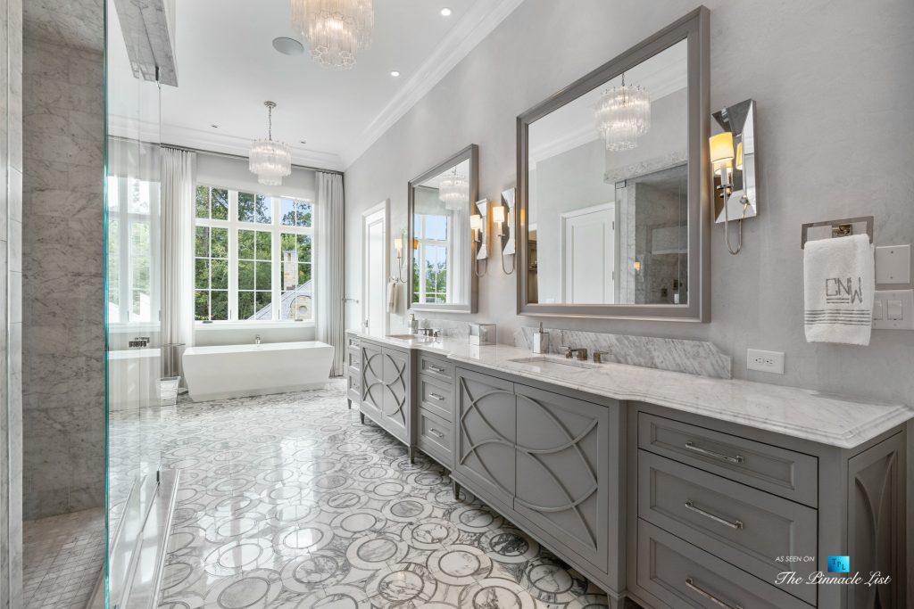 North Buckhead Luxury Estate - 1150 W Garmon Rd, Atlanta, GA, USA - Master Bathroom