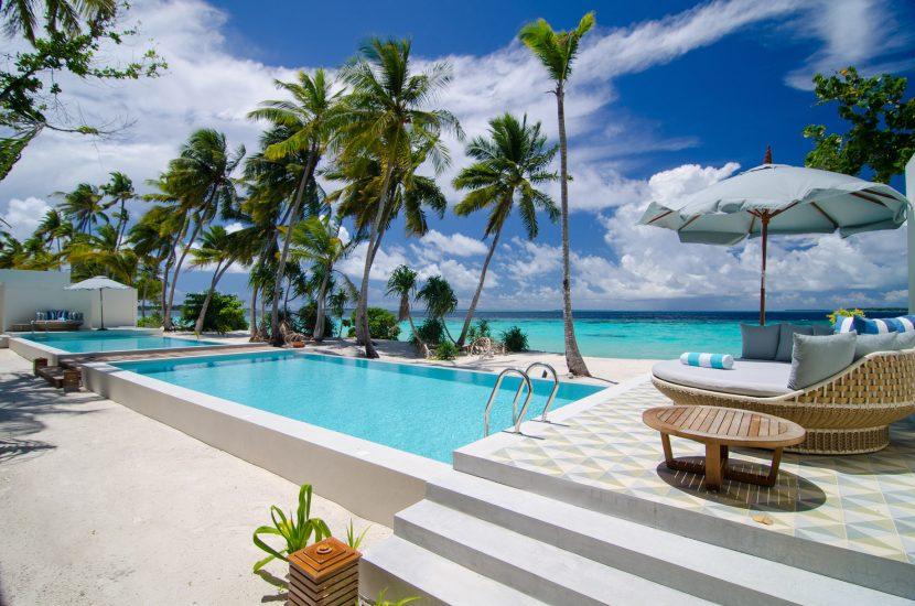 Amilla Fushi Luxury Resort and Residences - Baa Atoll, Maldives - Oceanfront Residence Beachfront Pool