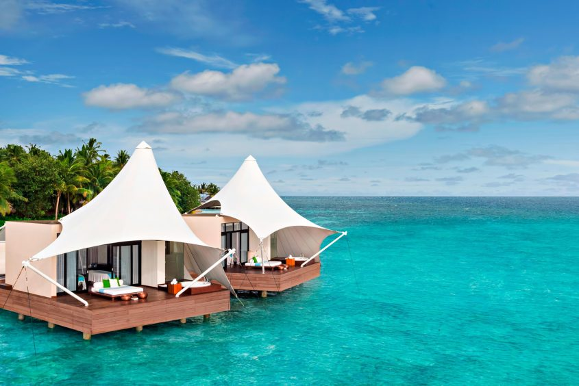 W Maldives Luxury Resort - Fesdu Island, Maldives - AWAY Spa Overwater Treatment Rooms