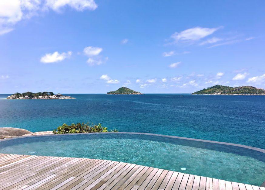 Six Senses Zil Pasyon Luxury Resort - Felicite Island, Seychelles - Spa Pool View