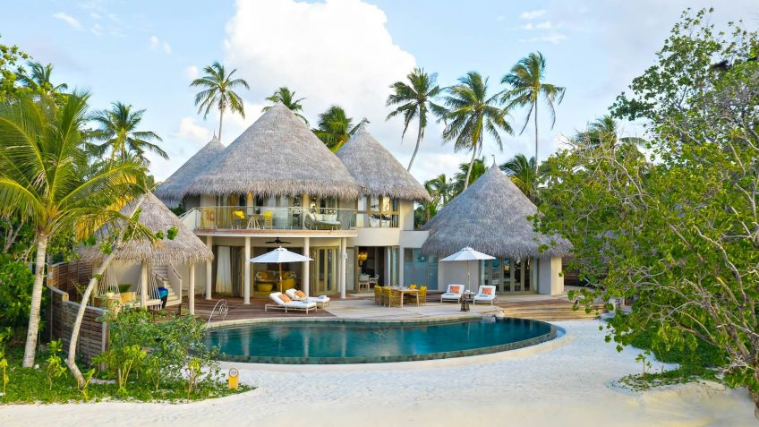 The Nautilus Maldives Luxury Resort - Thiladhoo Island, Maldives - Private Beachfront Residence