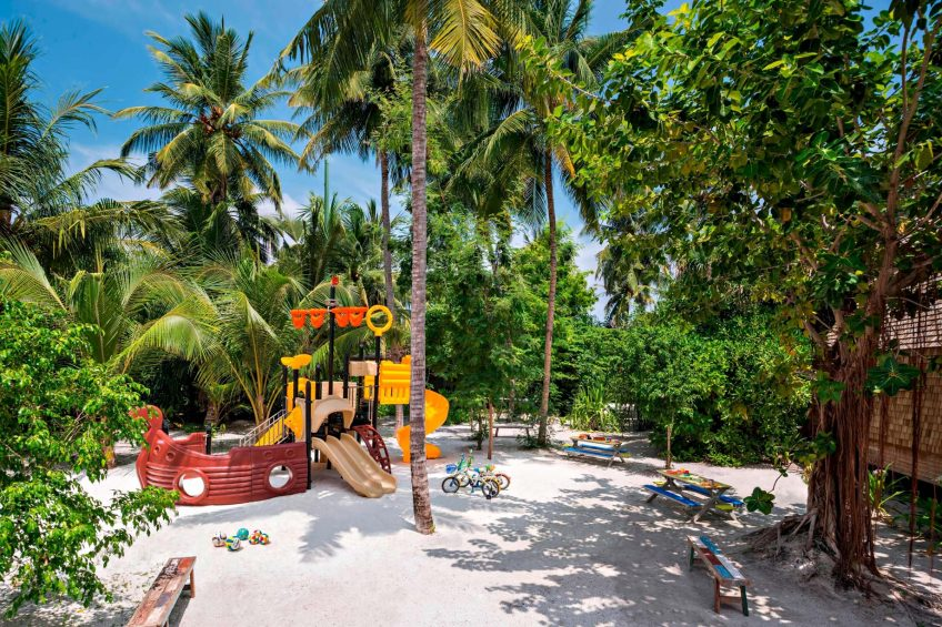 The St. Regis Maldives Vommuli Luxury Resort - Dhaalu Atoll, Maldives - Kids Club Outdoor Area