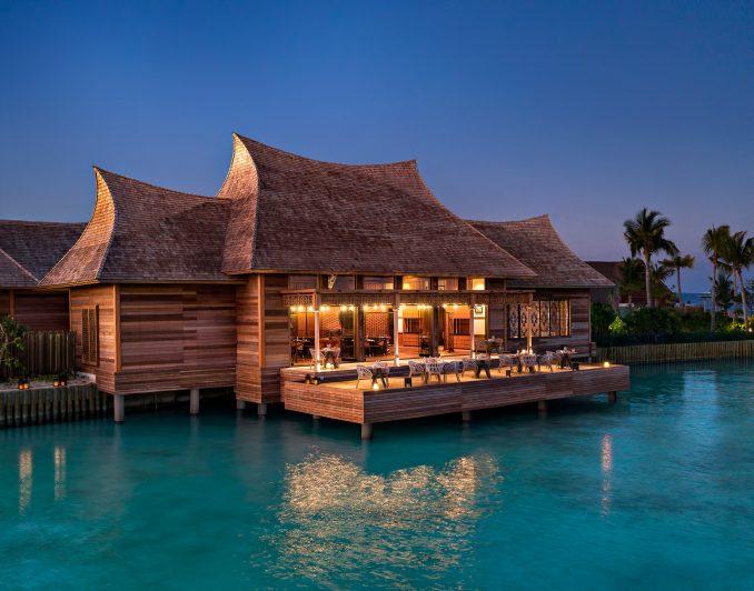 Waldorf Astoria Maldives Ithaafushi Luxury Resort - Ithaafushi Island, Maldives - Li Long Restaurant Night