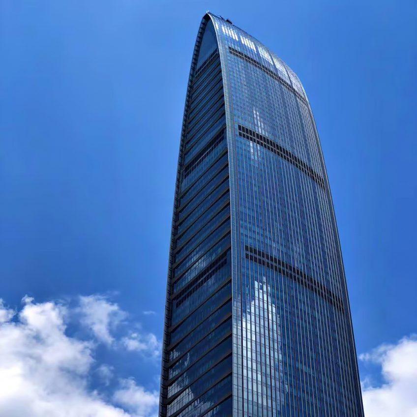 The St. Regis Shenzhen Luxury Hotel - Shenzhen, China - Tower View