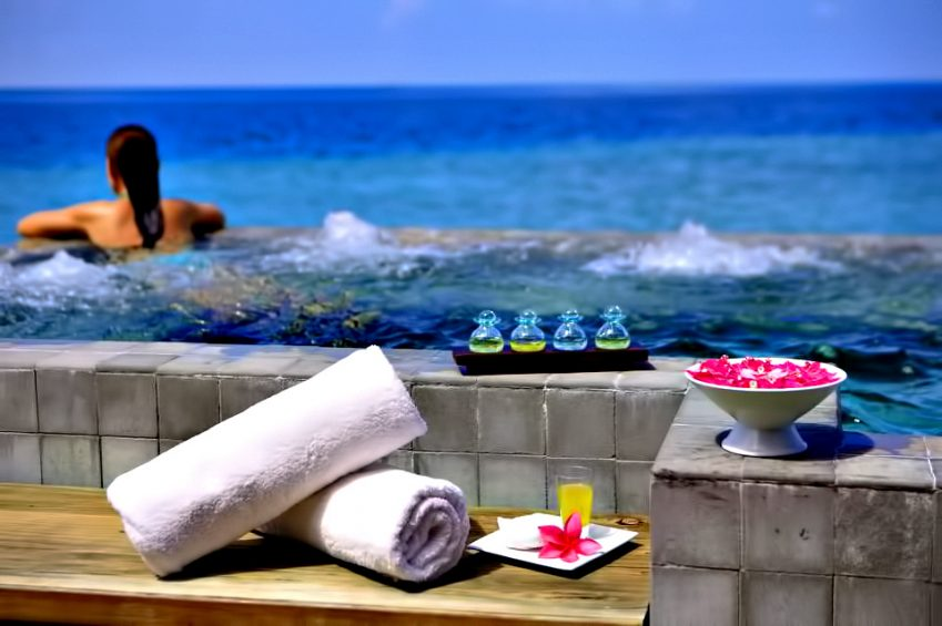 Velassaru Maldives Luxury Resort – South Male Atoll, Maldives - Over Water Spa Pool