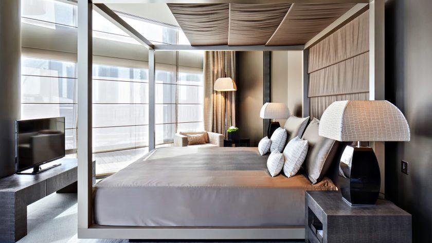 Armani Hotel Dubai - Burj Khalifa, Dubai, UAE - Armani Ambassador Suite Bedroom
