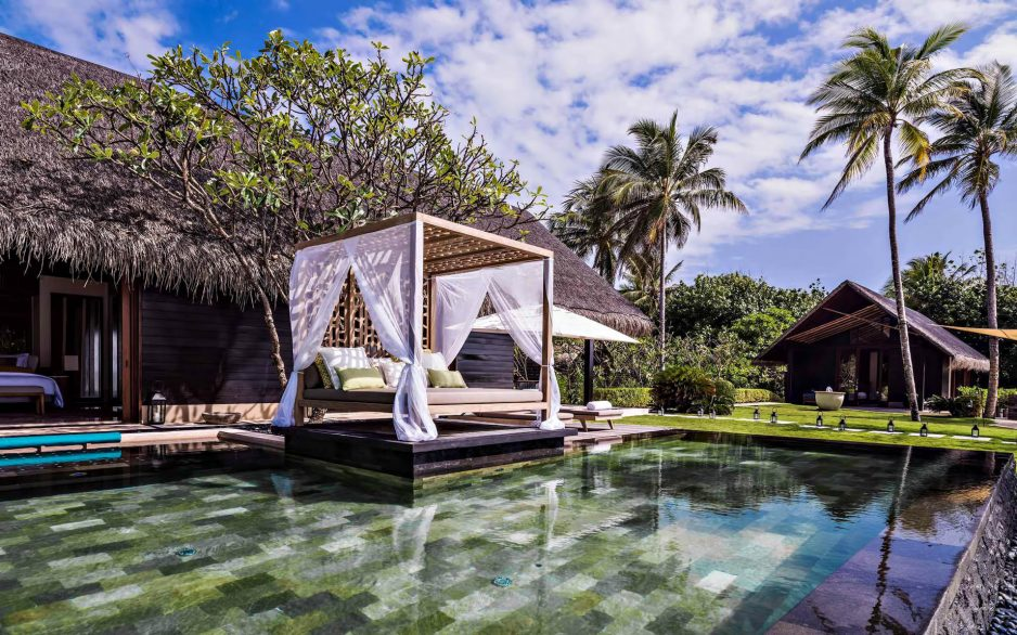 One&Only Reethi Rah Luxury Resort - North Male Atoll, Maldives - Grand Beach Villa Outdoor Pools