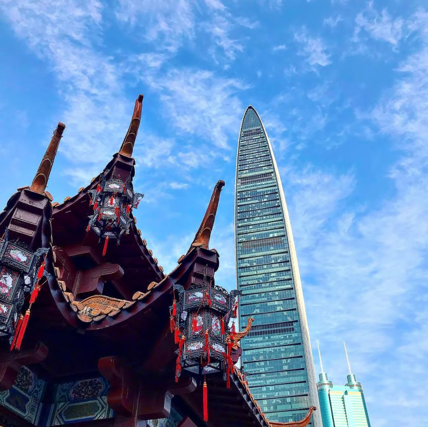 The St. Regis Shenzhen Luxury Hotel - Shenzhen, China - Tower Heritage View
