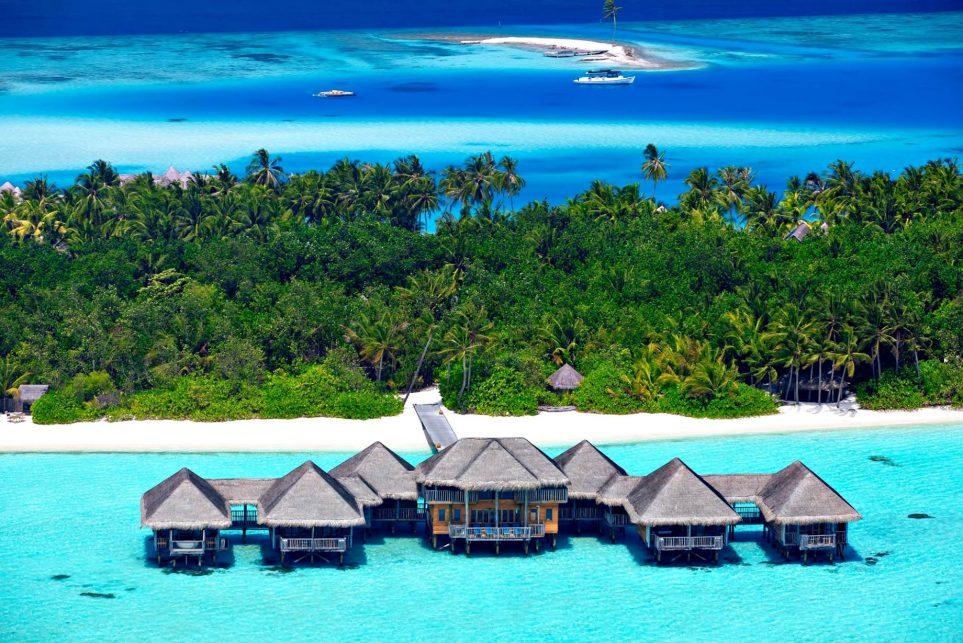 Gili Lankanfushi Luxury Resort - North Male Atoll, Maldives - Meera Spa Aerial