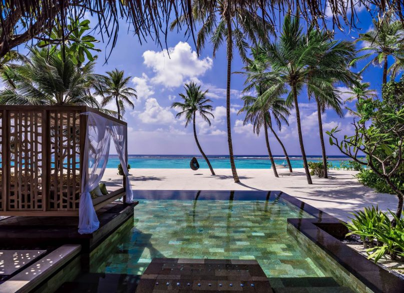 One&Only Reethi Rah Luxury Resort - North Male Atoll, Maldives - Grand Beach Villa Oceanfront Pool
