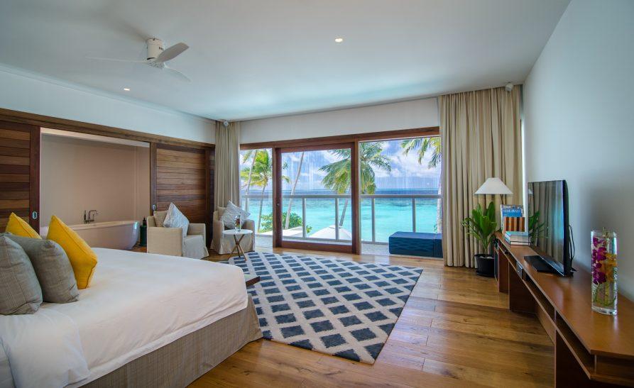 Amilla Fushi Luxury Resort and Residences - Baa Atoll, Maldives - Oceanfront Beach Residence Bedroom