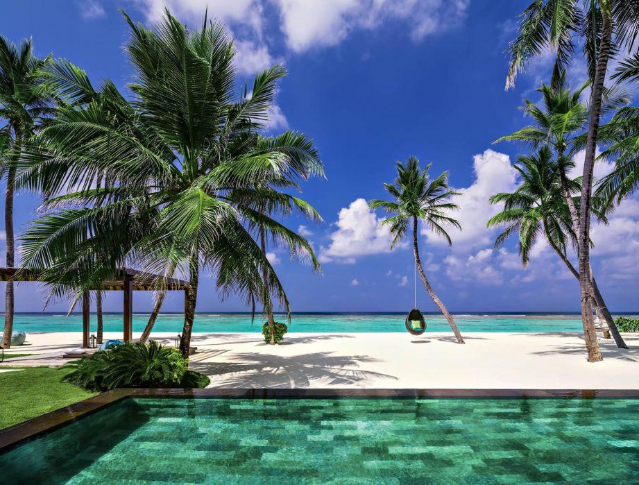 One&Only Reethi Rah Luxury Resort - North Male Atoll, Maldives - Grand Beach Villa Beachfront Pool View