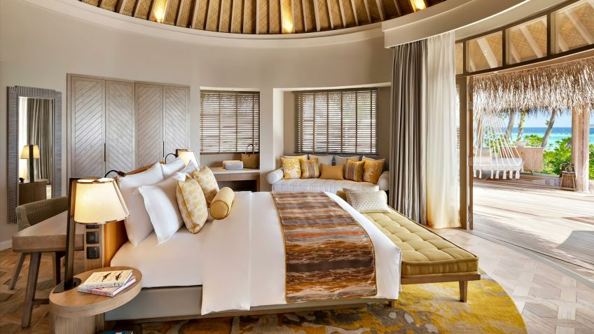 The Nautilus Maldives Luxury Resort - Thiladhoo Island, Maldives - Oceanview Residence Master Bedroom